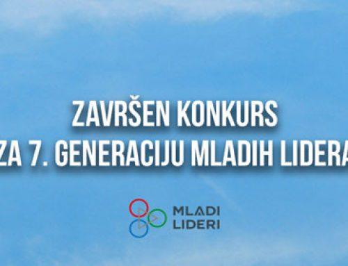 Završen konkurs za sedmu generaciju mladih lidera